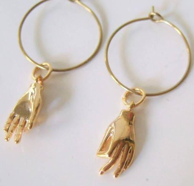 Mudra Hand Earrings buy online