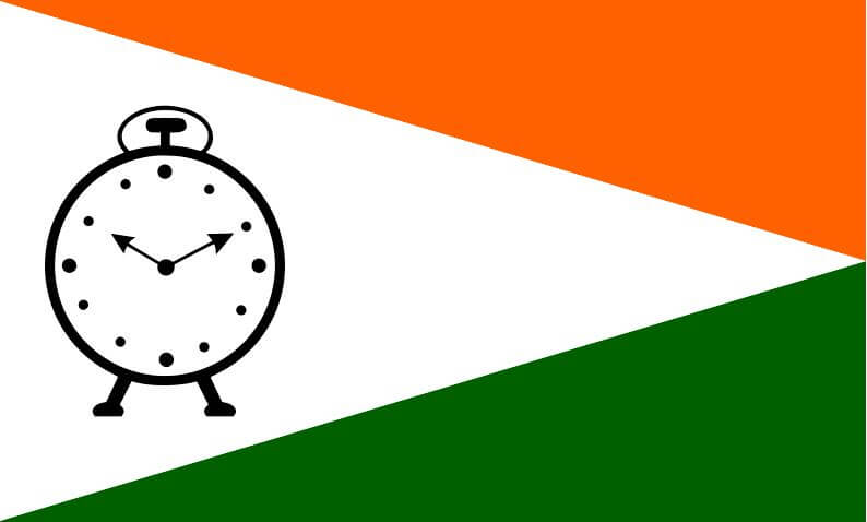 Nationalist congress party symbol