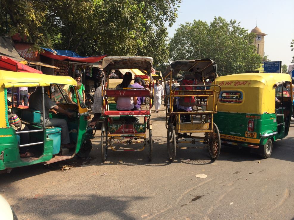 Chandni Chowlk Delhi shopping