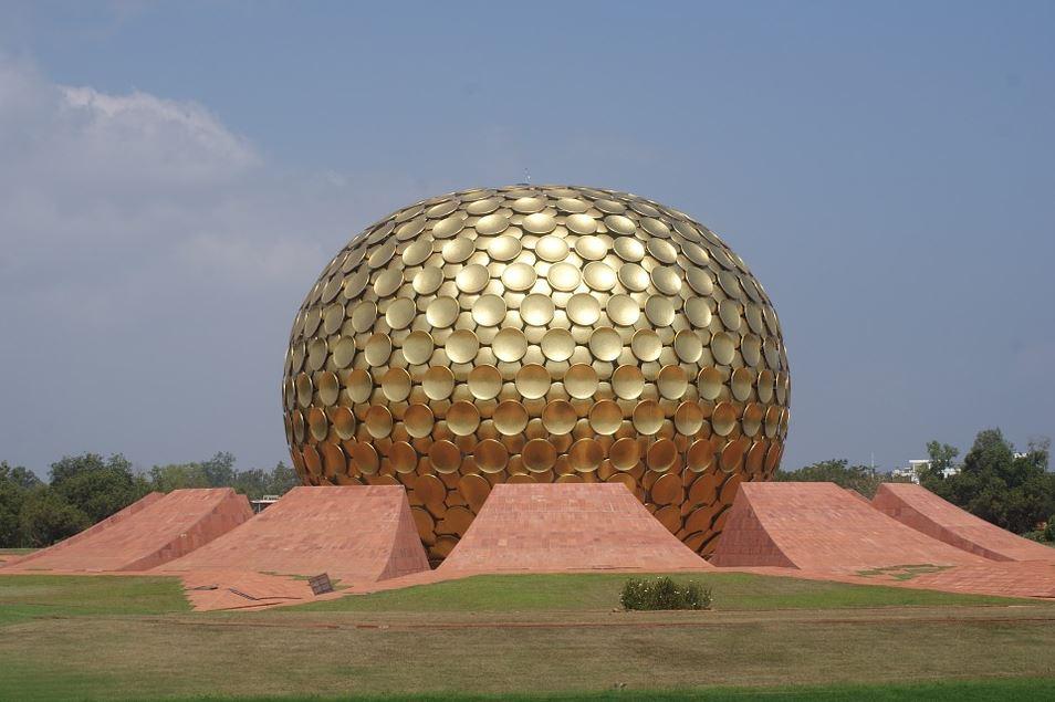 Auroville – Matrimandir - Tamil Nadu