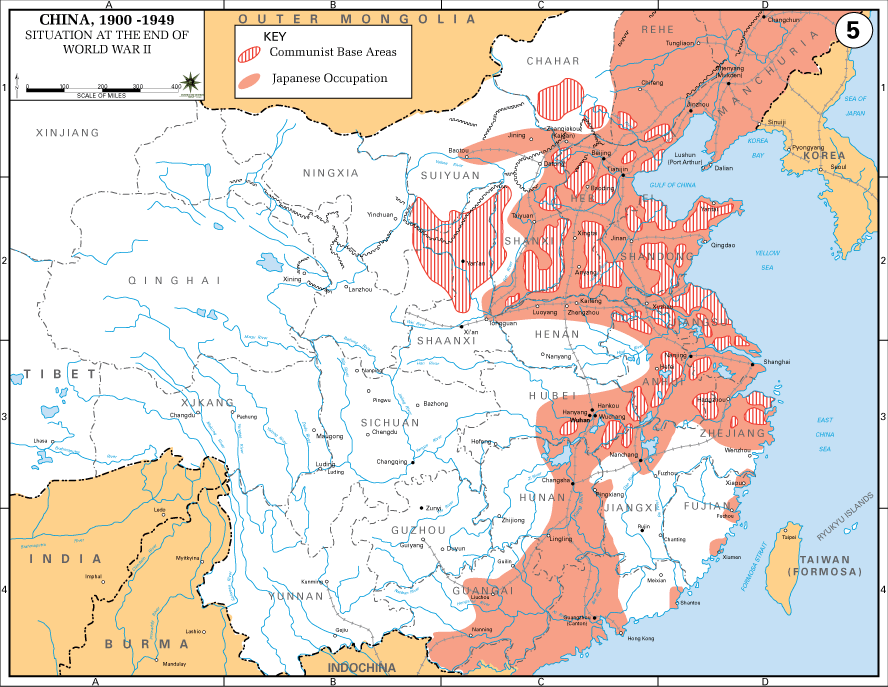 China-Japan conflict - second world war