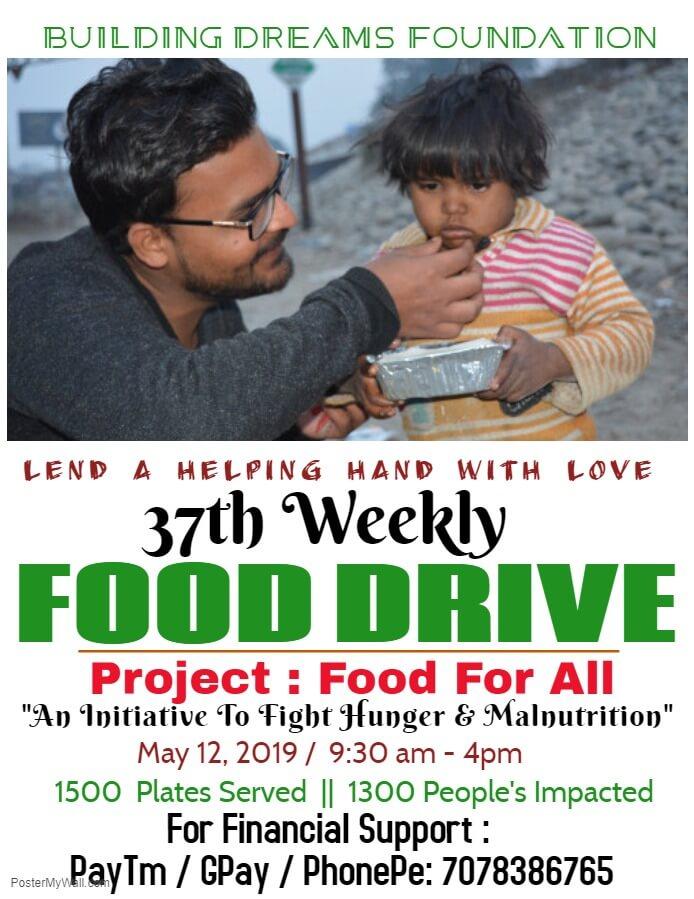 food drive in rural india