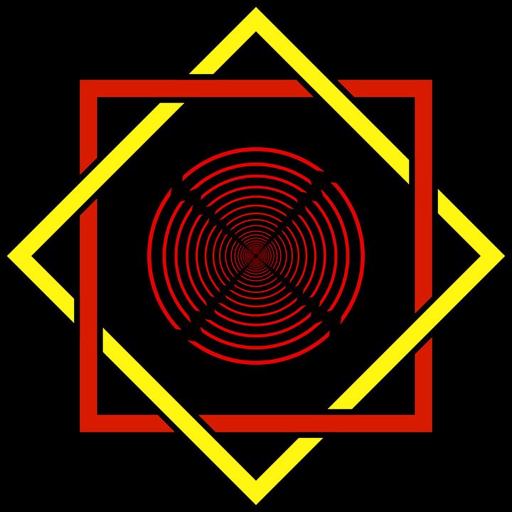 Star of Lakshmi, symbol of Hinduism
