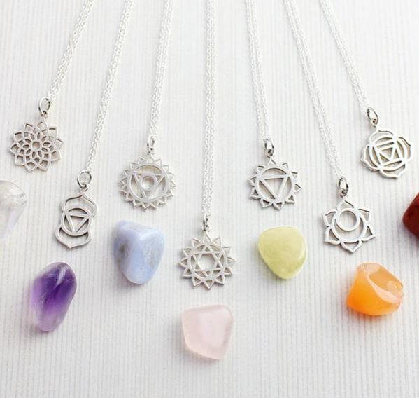 Sterling Silver Chakra Necklaces