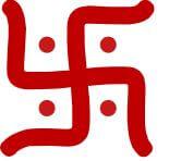 Swastika Buddhist symbol