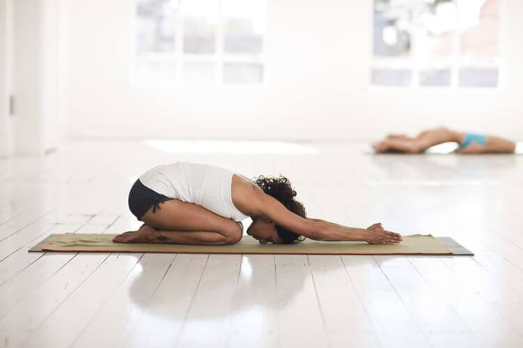 Tantra Yoga child's pose