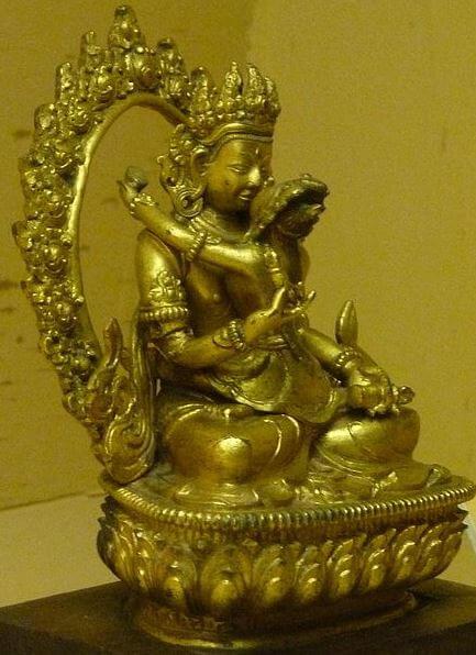 Tantra Yoga Yab Yum pose
