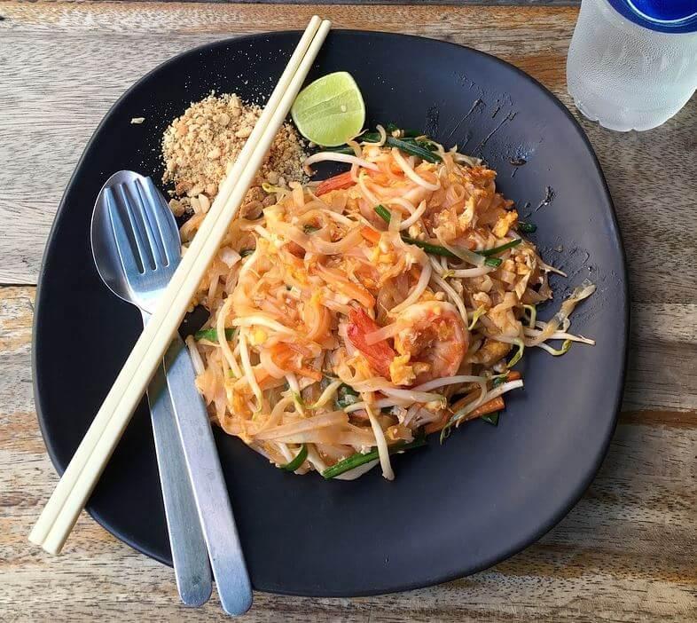Thai cuisine dish Pad Thai