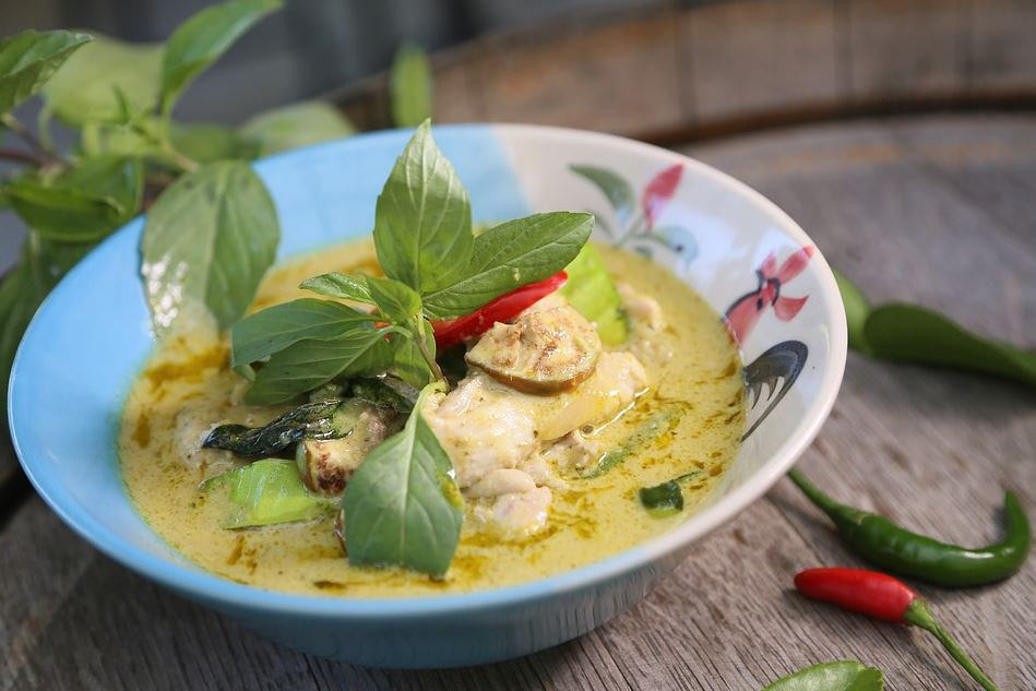 Green Chicken curry, delicious