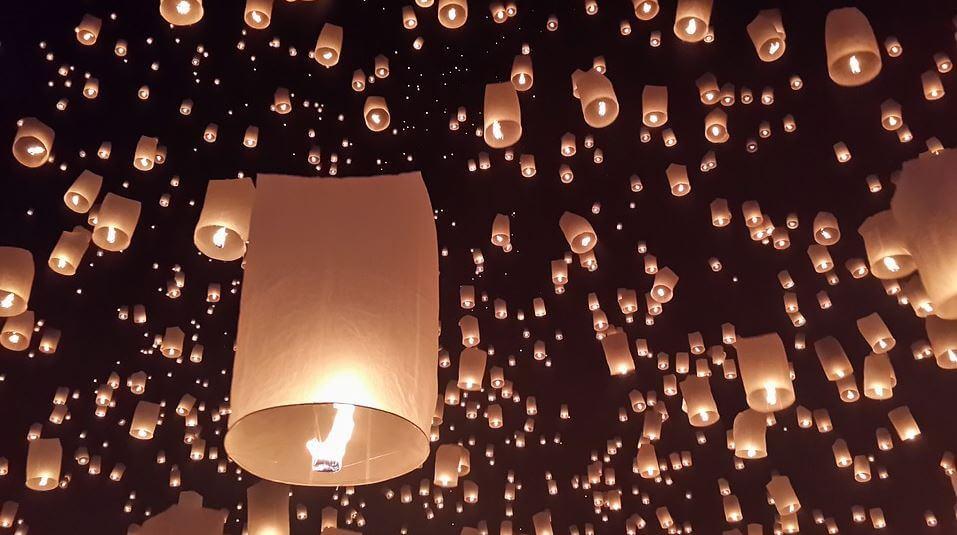 Thailand festivals - The Loi Krathong Festival