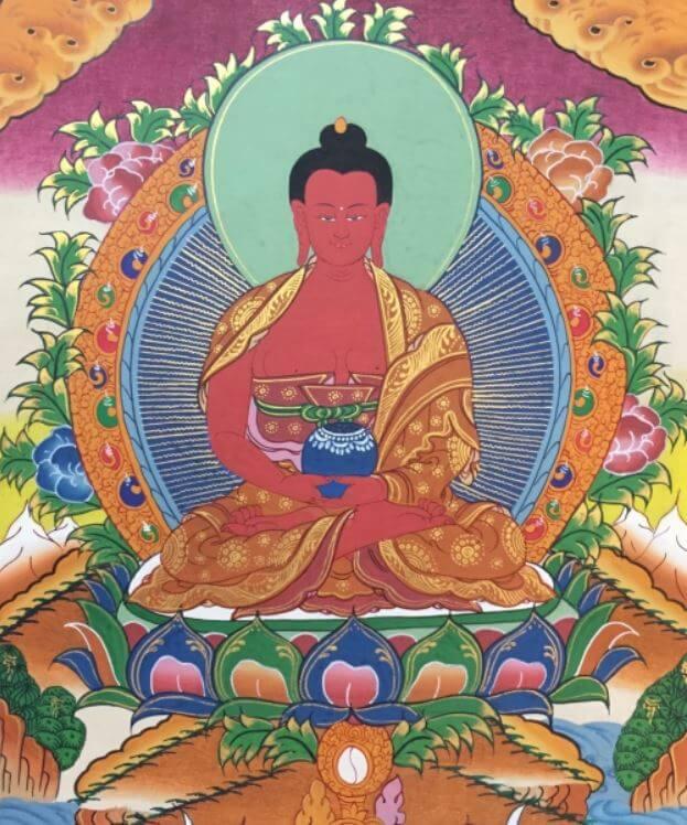 Tibetan thangka paintings