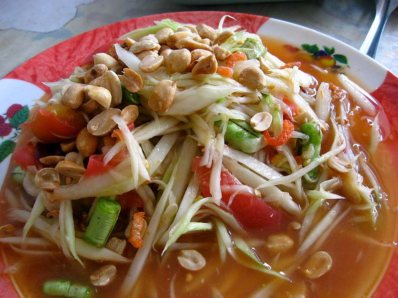 Top 10 Thai dishes Som Tum