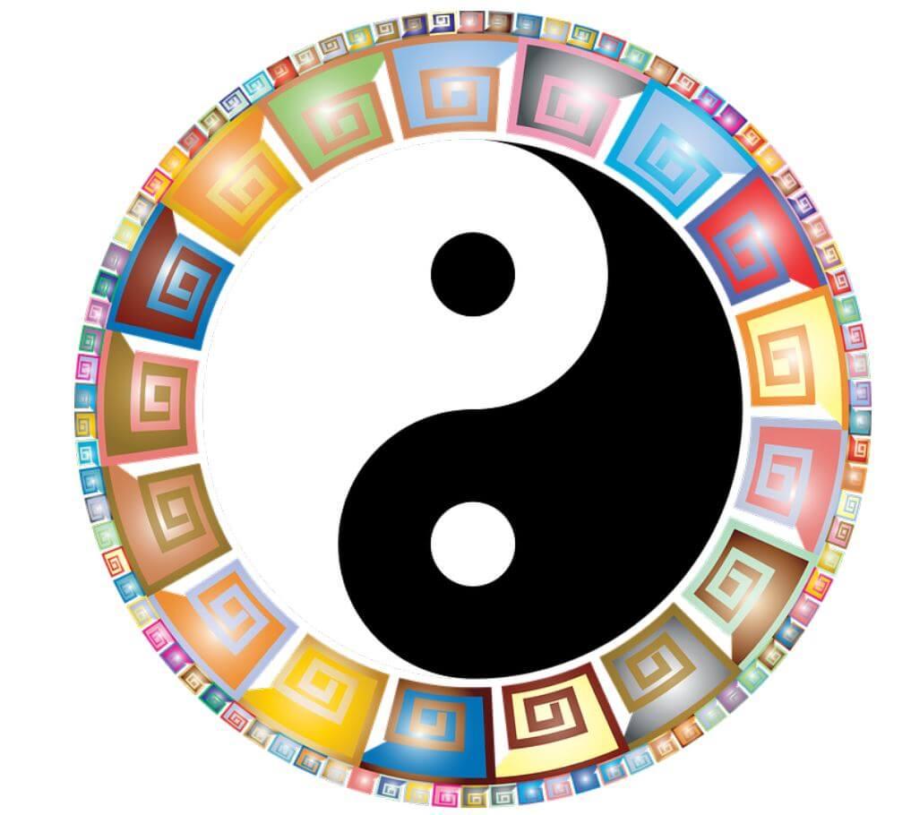 Yin & Yang Mandala