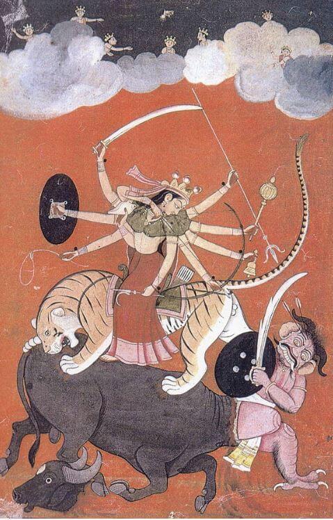 Hindu god of happiness