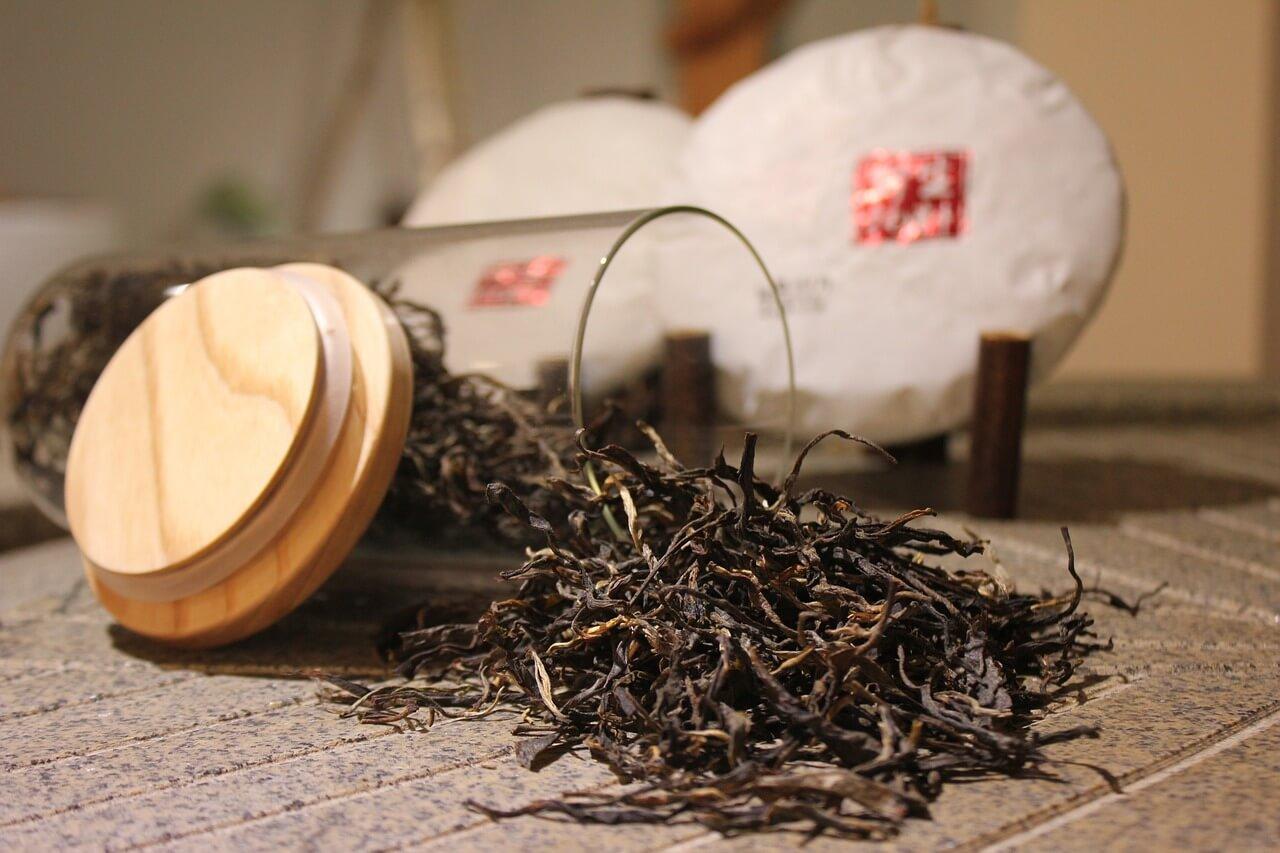 Types of tea - black tea